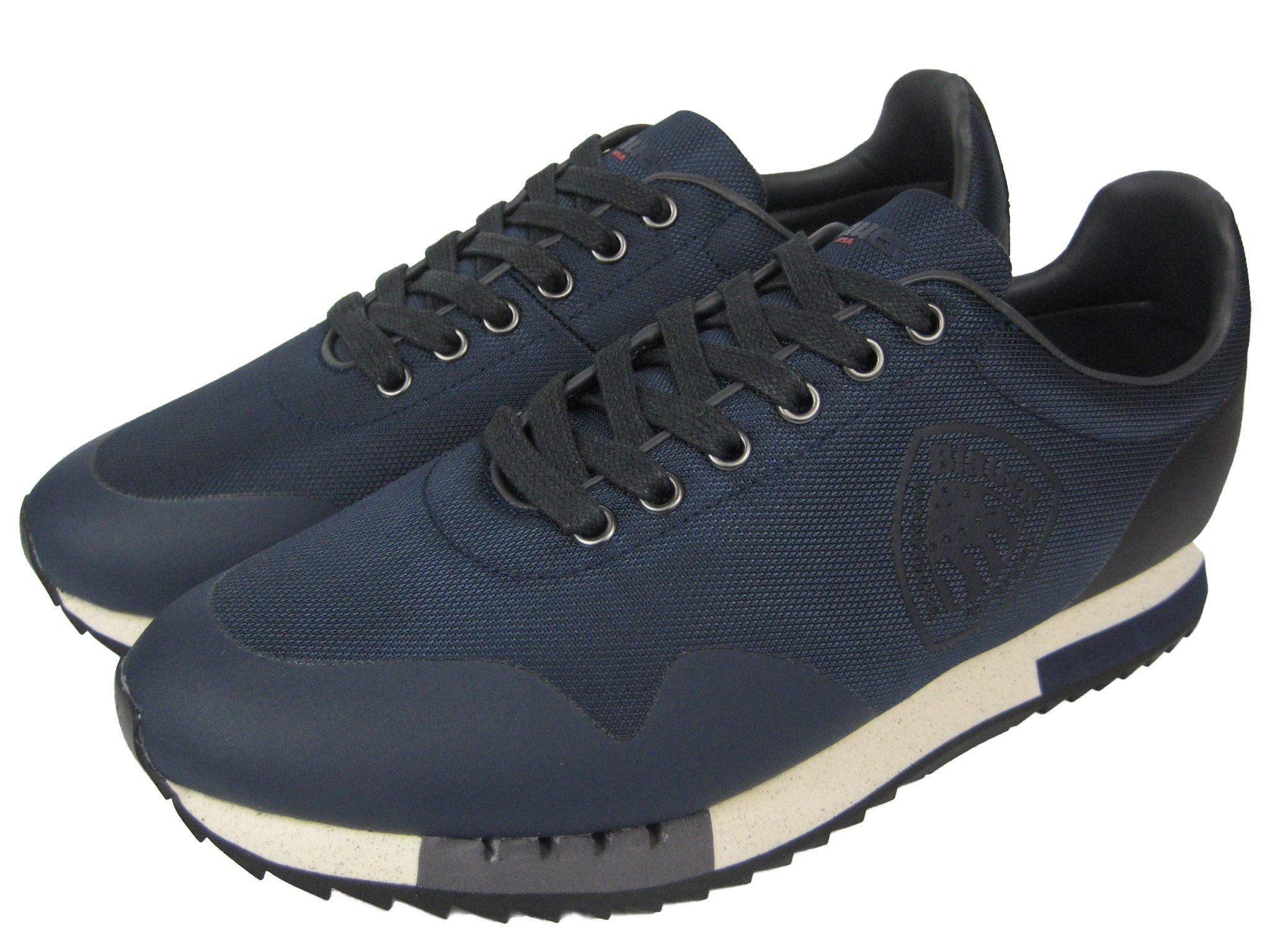 new product 8edd1 41a77 Blauer USA Herren Sneaker Schuhe Detroit dunkel blau navy