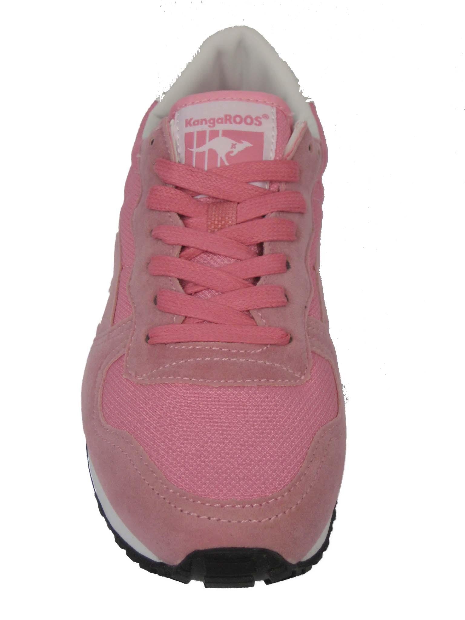 KangaROOS Damen Schuh Sneaker Laufschuh 47105 Invader-Basic blue blau türkis