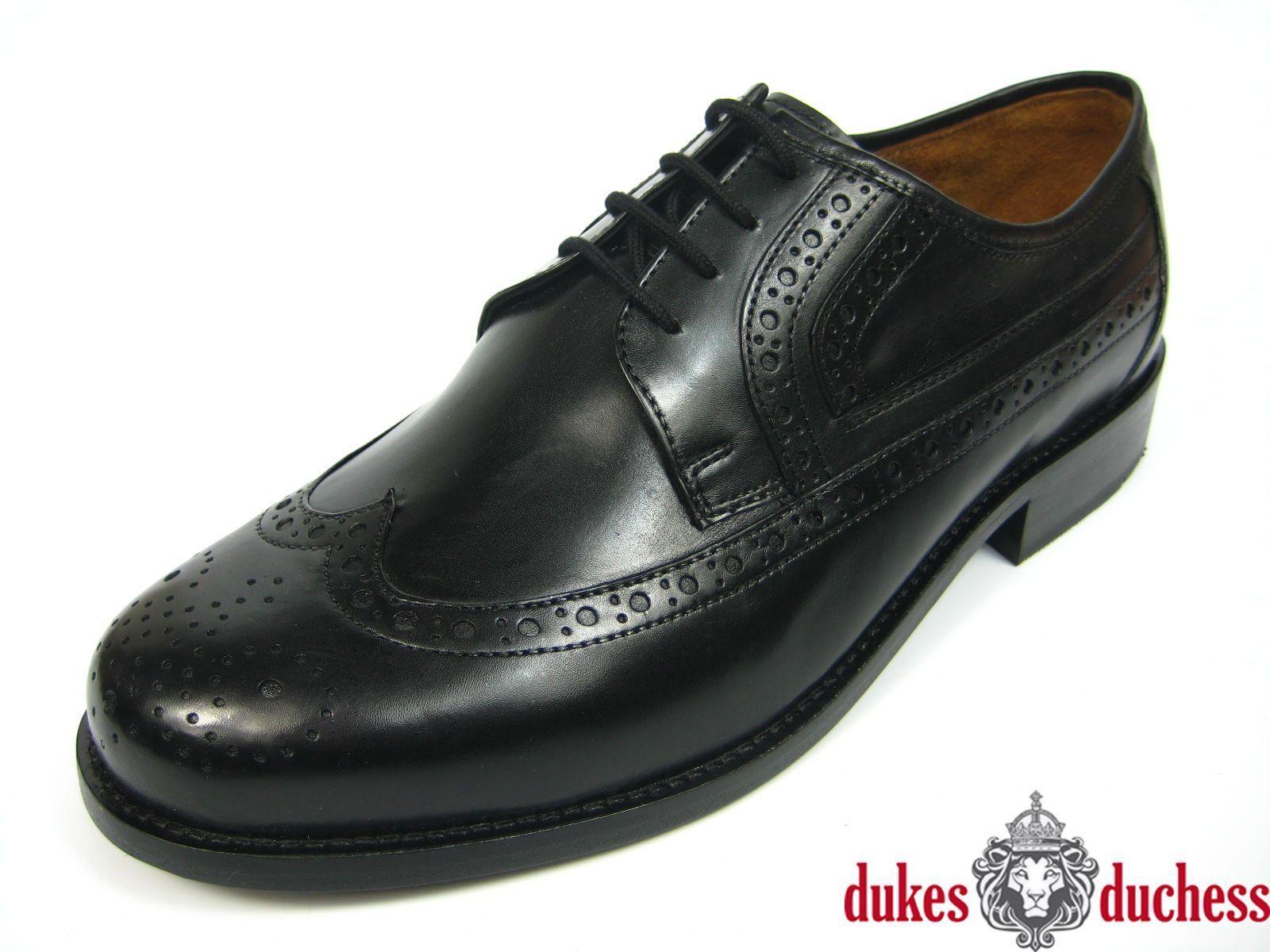 Business Schuhe Männer Braun Derby Budapester Buda